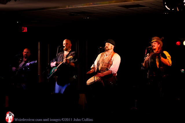 The Bawdy Boys Entertain Their Way Through Tales, Toasts, and Timeless Tunes at the World Steam Expo!