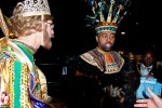 Lords on Lundi Gras – Rex and the King of the Zulu parade