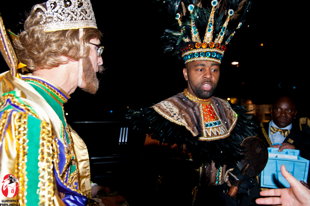 Lords on Lundi Gras – Rex and the King of the Zulu parade ...