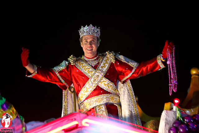Will Ferrell - King Bacchus 2012!