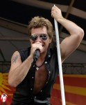 Jersey boy, Jon Bon Jovi, got the crowd roaring at the 2011 New Orleans Jazz and Heritage Festival. - Photo by Captain Brian Epstein