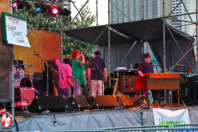 Papa Grows Funk at the French Quarter Fest