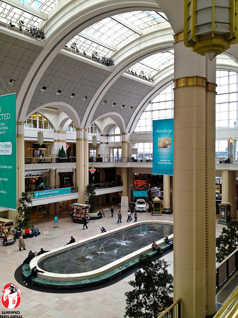 The Cleveland Int'l Film Festival's headquarters is stationed in the striking Tower City Center