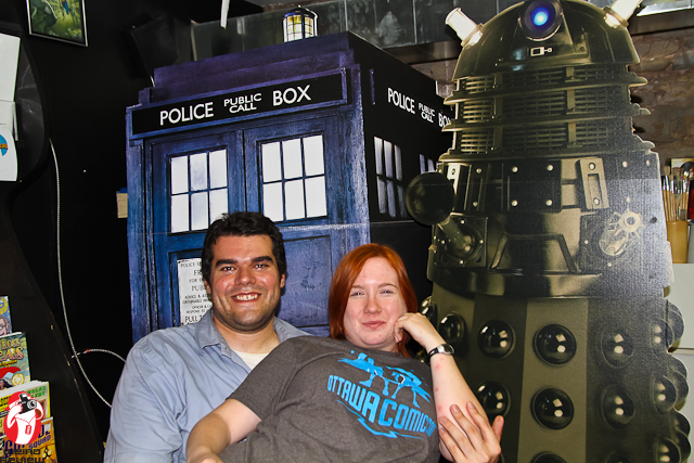 Mike's secret for getting the babe? Ya gotta have a Dalek to get the Darling!