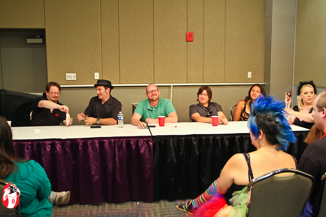 The Voice Actors' panel at Ikasu Con 2012