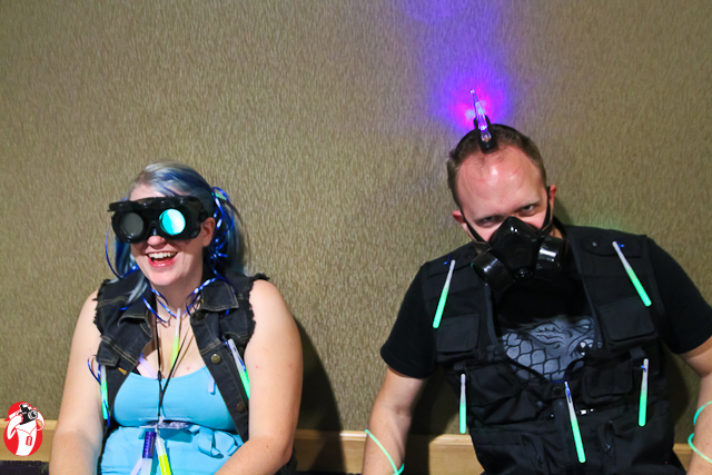 The attendees at Ikasucon 2012 were aglow with excitement!