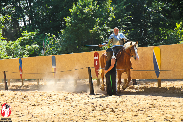 Heavy Metal Horsemanship at the Black Rock Medieval Summerfest!