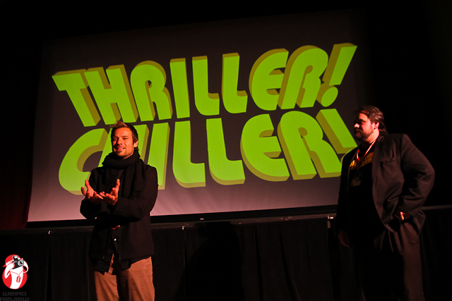 "Adam Lamas at the Thriller! Chiller! ""Empty House"" Q & A"
