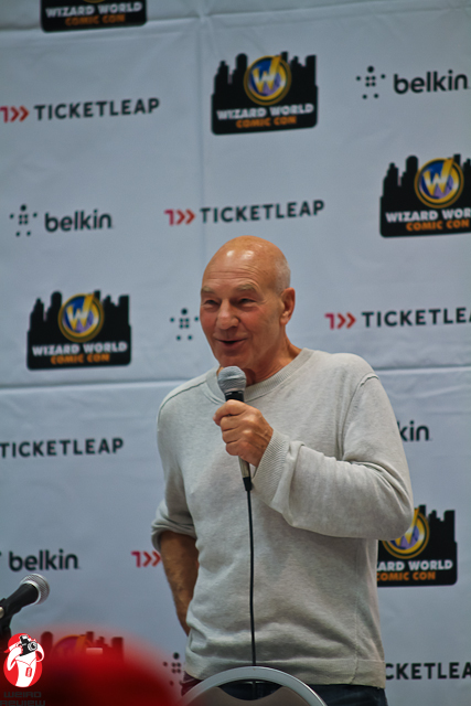 Patrick Stewart at Wizard World, Ohio