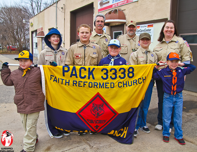Cub Scouts Trooping
