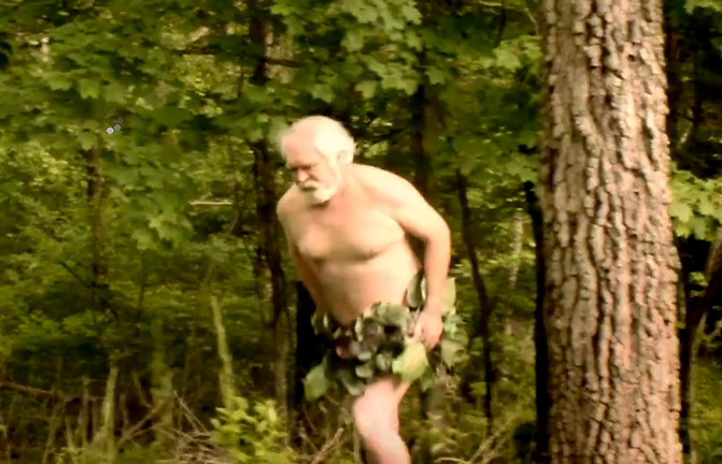 Another Bigfoot siting? No, Just Larry Elmore in the season on premiere of Brothers Barbarian