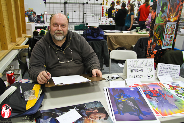Scott Rosema, artist for Space Ghost, Tiny Toons, Batman