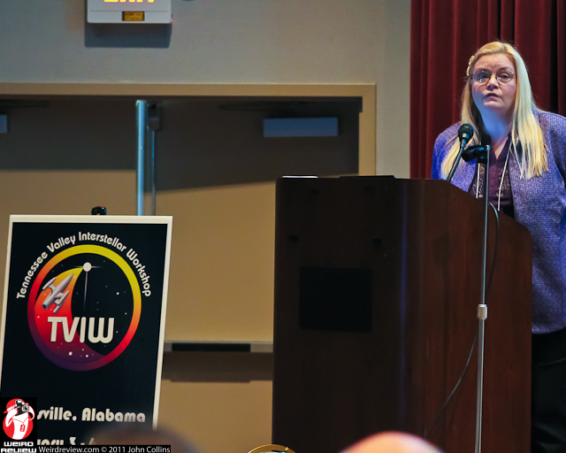 Stephanie Osbourn at the Tennessee Valley Interstellar Workshop