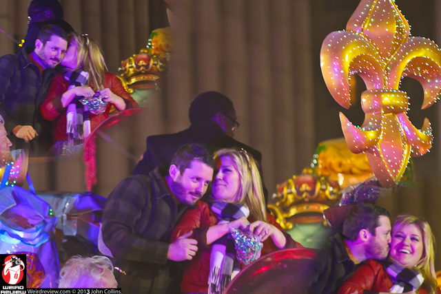 Endymion Grand Marshall, Kelly Clarkson and fiancee, Brandon Blackstock