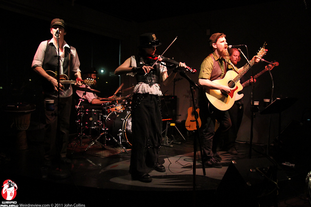 Stone Clover with Matthew Flannery, Taylor Izak, Marc Williams, Pauly Brady, and Ian Dixon