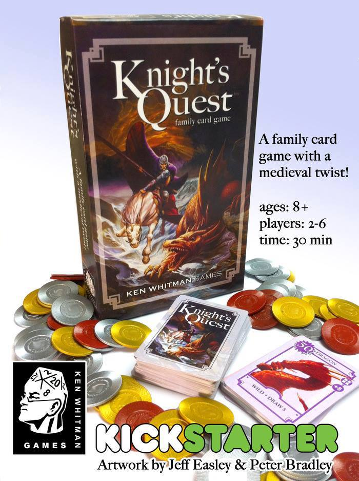 "Ken Whitman Games ""Knight's Quest"""