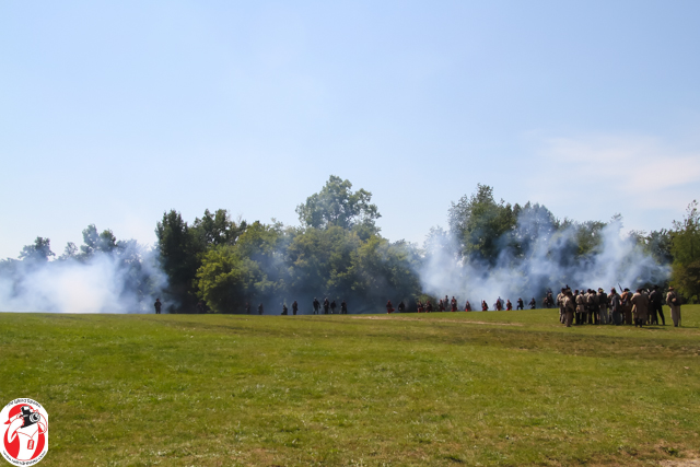 Guns and Canons blazed at the Jackson Muster