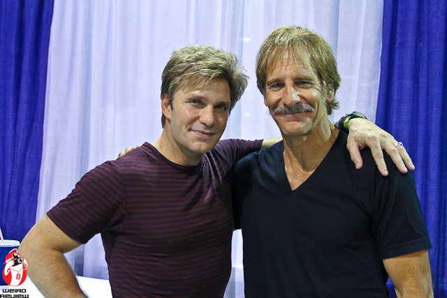 Vic Mignogna and Scott Bakula at Wizard World Chicago