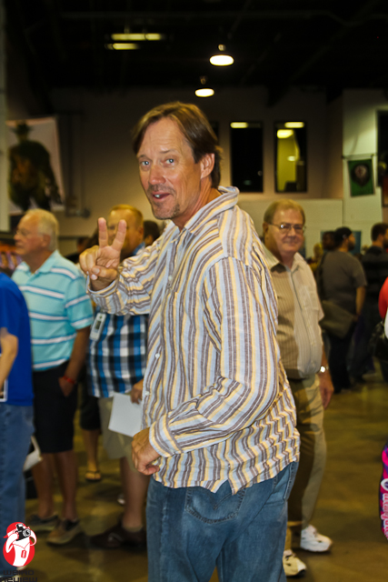 Kevin Sorbo, aka Hercules, after he whizzed past me at Wizard World Chicago 2012