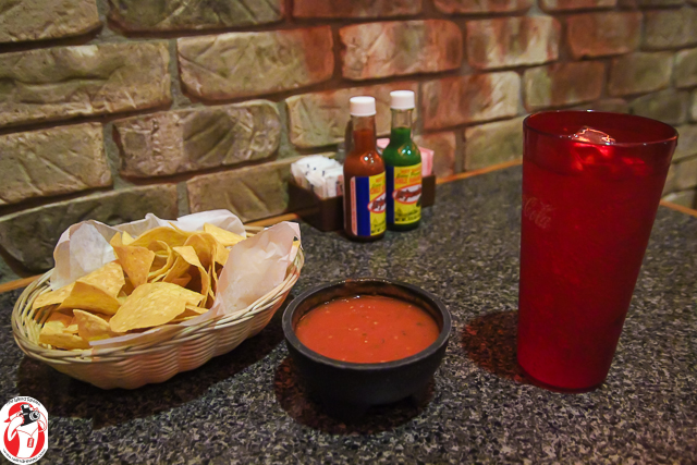Complimentary chips and salsa are just the start