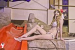 Carys Claringbold, winner or the 2012 Cosplay Swimsuit competition