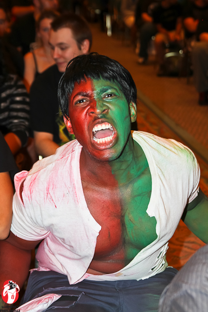 "Ryan Green as ""Compound Hulk"""
