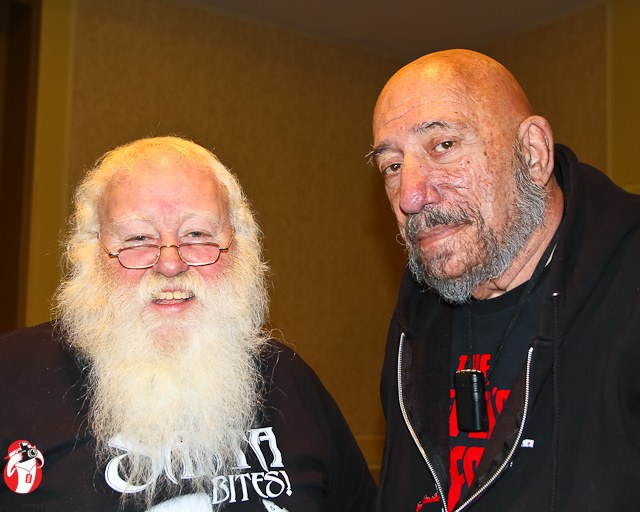 Sal Lizard and Sid Haig