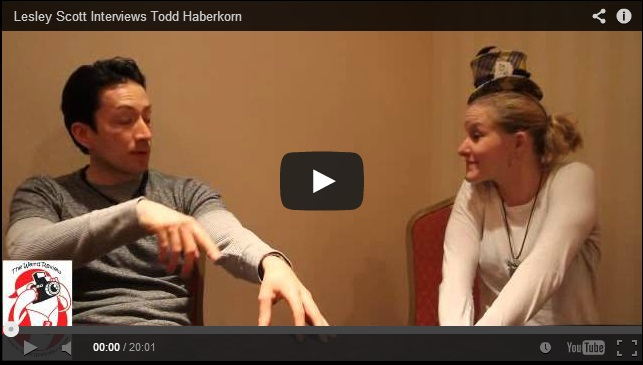 Lesley Scott inteviews Todd Haberkorn at Youmacon 2013