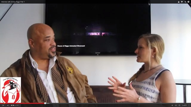 Jimmy Diggs interviewing with Lesley Scott of The Steampunk Soiree and The Weird Review
