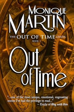 "The cover of Monique Martin's ""Out of Time"""
