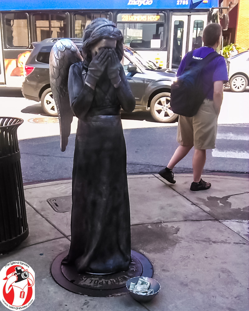 The Weeping Angel Busker at GenCon
