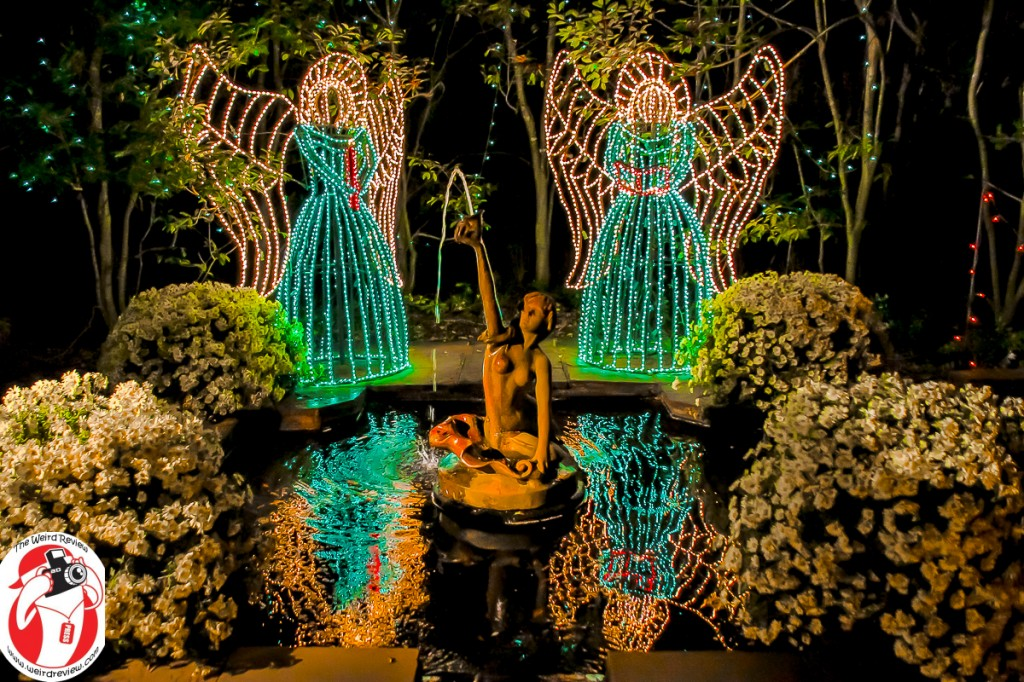 Christmas lights at Bellingrath Gardens on the Mobile Bay