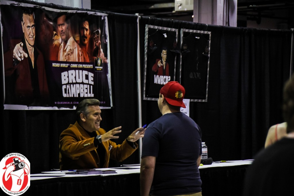 Bruce Campbell at Wizard World