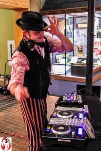 DJ Vourteque at the Grand Rapids Public Museum