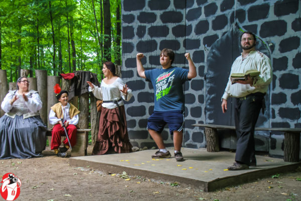 Story time with the Brothers Grimm at the Mid Michigan Renaissance Festival