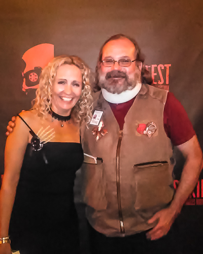 Denise Gossett with John N. Collins aka Weird of the Weird Review